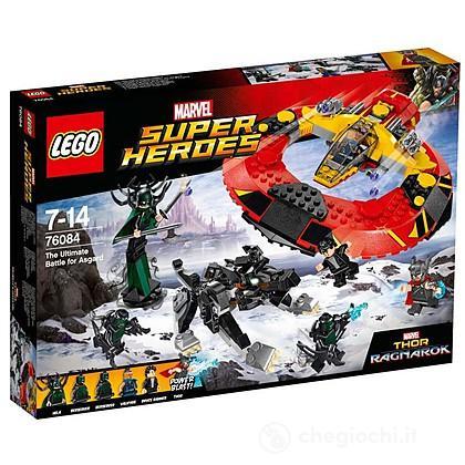 La battaglia finale per Asgard Thor - Lego Super Heroes (76084)