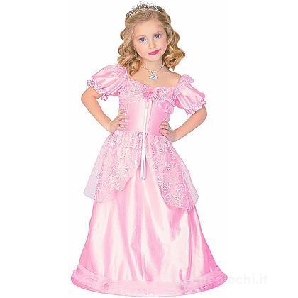 Costume Principessa Rosa 3-4 anni