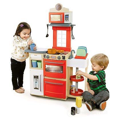 Cucina compatta 9038701 cucina little tikes giocattoli - Cucina compatta ...