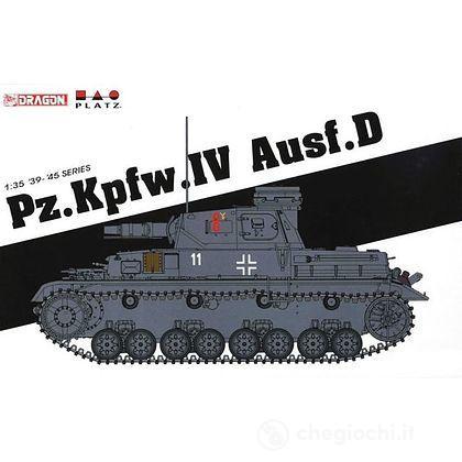 Carro Armato PZ.KFZ.IV AUSF.D 1/35 (DR6873)