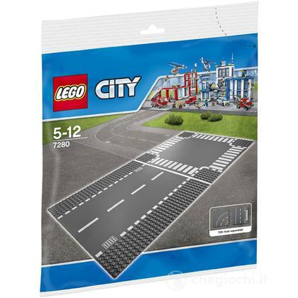 Rettilineo e incrocio - Lego City Supplementary (7280)