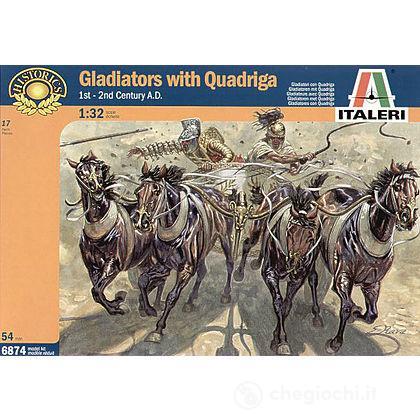 Gladiatori Con Quadriga