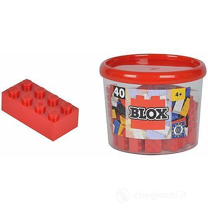 Blox Mattoncini Rosso 40 pezzi (104118875)
