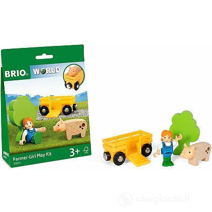 Brio kit di gioco contadina (33875)
