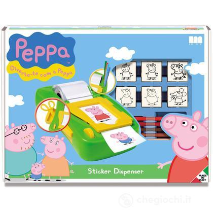 Sticker dispenser Peppa Pig