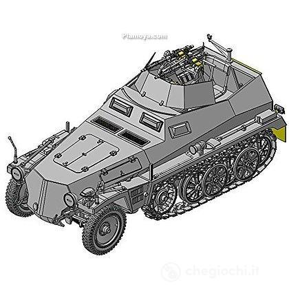 Veicolo semicingolato SD.KFZ. 250/4 ZWILLING MG34 1/35 (DR6878)