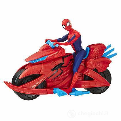 Spider-Man con veicolo moto (M28Z24)