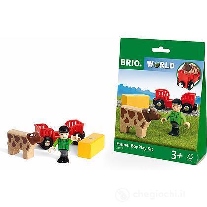 Brio kit di gioco contadino (33879)