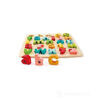 Puzzle delle lettere minuscole a pezzi grossi (E1552)
