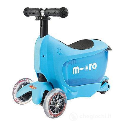 Mini2Go Blu- Monopattino 2 in 1