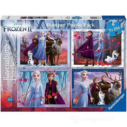 Puzzle 4x100 Frozen 2