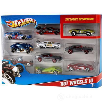 Hot Wheels 10 macchine (54886)