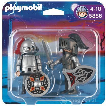 Duo pack cavalieri con armatura (5886)