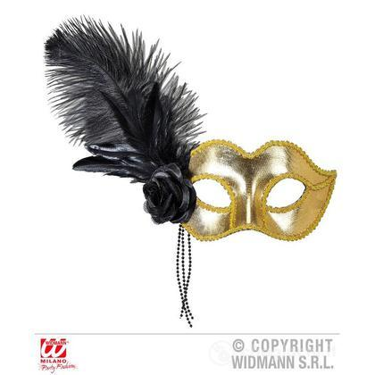 Maschera veneziana oro