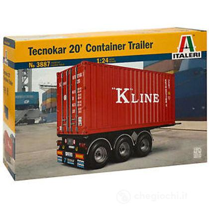 Container Trailer 1/24 (IT3887)