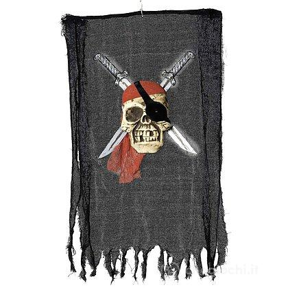 Stendardo dei pirati con teschio