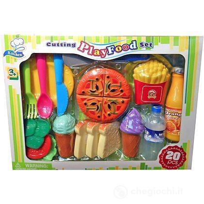 Pizza Tagliabile Playfood 20 pezzi