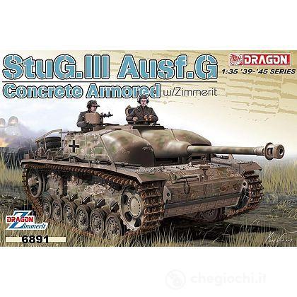 Carro Armato CONCRETE ARMORED STUG III AUSF.G 1/35 (DR6891)