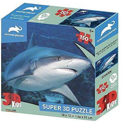 Puzzle 3D Animal Planet: squalo 150 pezzi