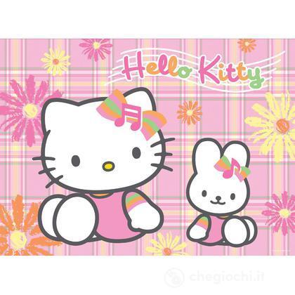 Hello Kitty - In giardino