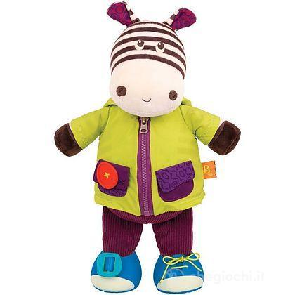 Zebra da vestire Dress Me - Zebb Giggly Zippies (BX1692Z)