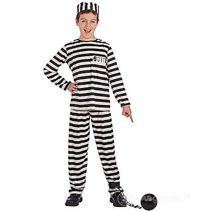 Costume prigioniero tg.VIII 11-13 anni (65894)