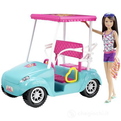 Golf Cart di Barbie (X4926)