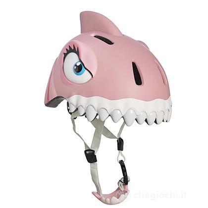 Casco Crazy Safety squalo rosa