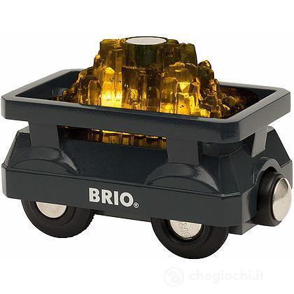 Brio vagone luccicante per l'oro (33896)