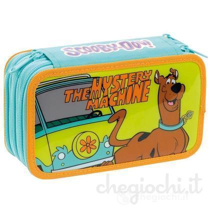 Astuccio triplo Scooby Doo