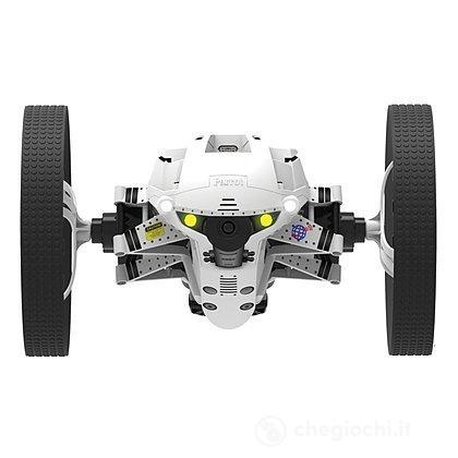 Drone Jumping Night Buzz Con Luci Led, Microfono e Telecamera - Bianco