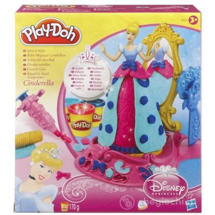 Playdoh Disney Spin and Style Cenerentola