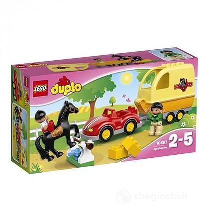 Cavallo e rimorchio - Lego Duplo (10807)