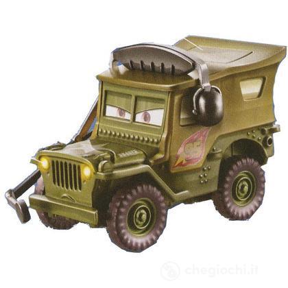 Sergente Cars 2 Veicoli 1:55 Luci e Suoni (W6750)