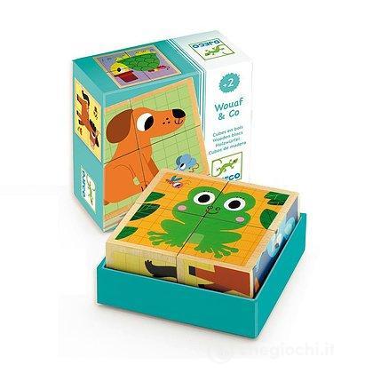 Cubi legno Wouaf & co (DJ01903)