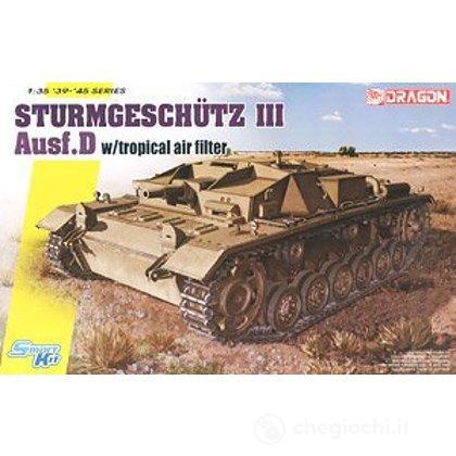 Carro Armato StuG.III Ausf.D w/Tropical Air Filter 1/35 (DR6905)