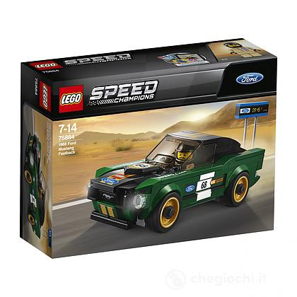 Ford Mustang Fastback 1968 - Lego Speed Champions (75884)