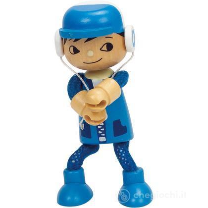 Bambola di legno Figlio (E3508)