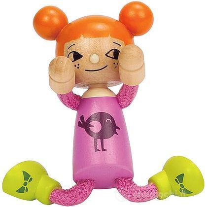 Bambola di legno Figlia piccola (E3509)