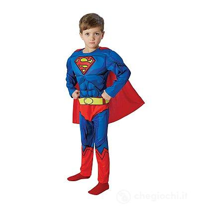 Costume Superman Deluxe taglia L (610781)