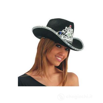 Cappello cow girl nero