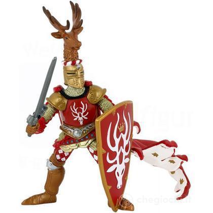 Cavaliere maestro d'armi criniera cervo (39911)