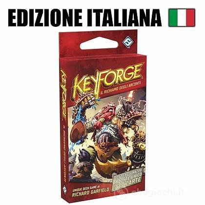 Colore Degli Mazzo Di Gioco Carte KeyforgeIl Arconti Richiamo Rosso10601Asmodee PwOn80k