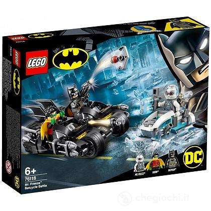 Battaglia sul Bat-ciclo con Mr. Freeze - Lego Super Heroes (76118)