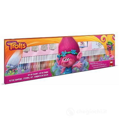 Mega Coloring 60 Pennarelli - Trolls (8912)