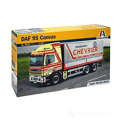 Camion DAF 95 Canvas Truck 1/24 (IT3914)