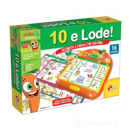Carotina 10 E Lode Alfabeto E Parole (49158)