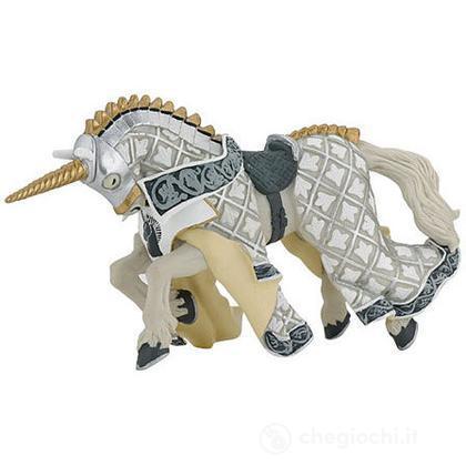 Cavallo cavaliere maestro d'armi criniera unicorno (39916)