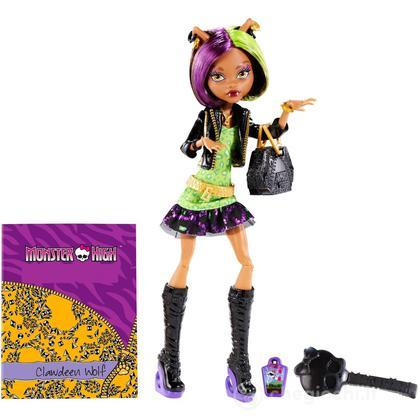 Clawdeen Wolf Monster High Scaremaster (BGT35)
