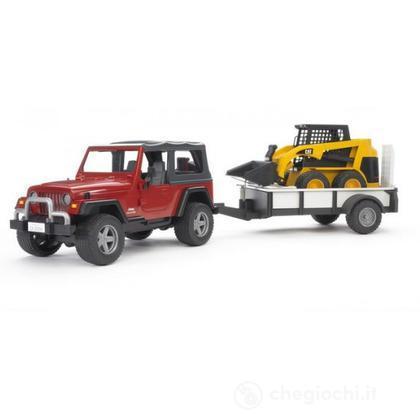 Jeep Wrangler Unlimited con rimorchio e CAT (2924)